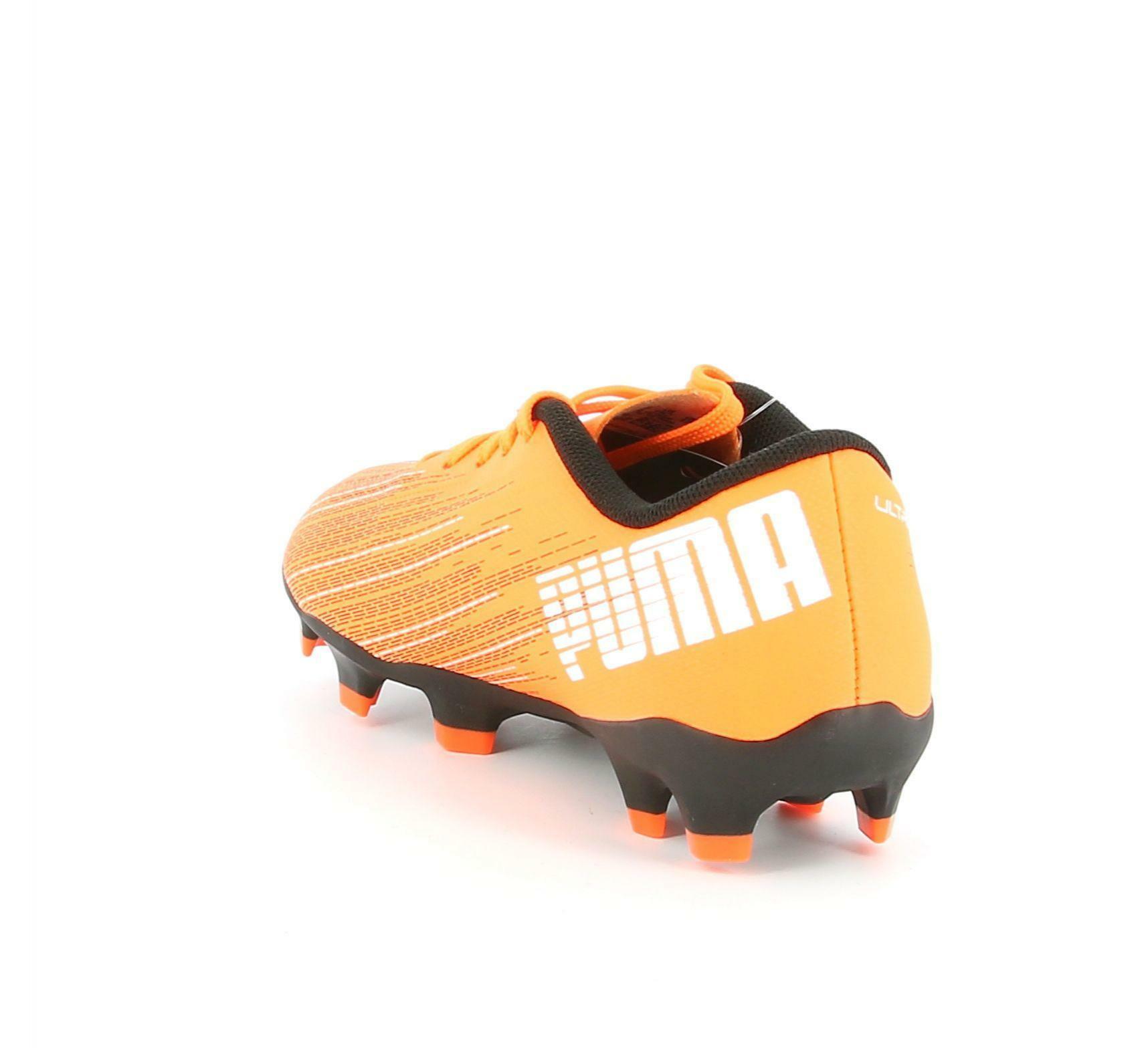 puma puma ultra 4. fg/ag jr 106100 001 arancio scarpe calcio bambino