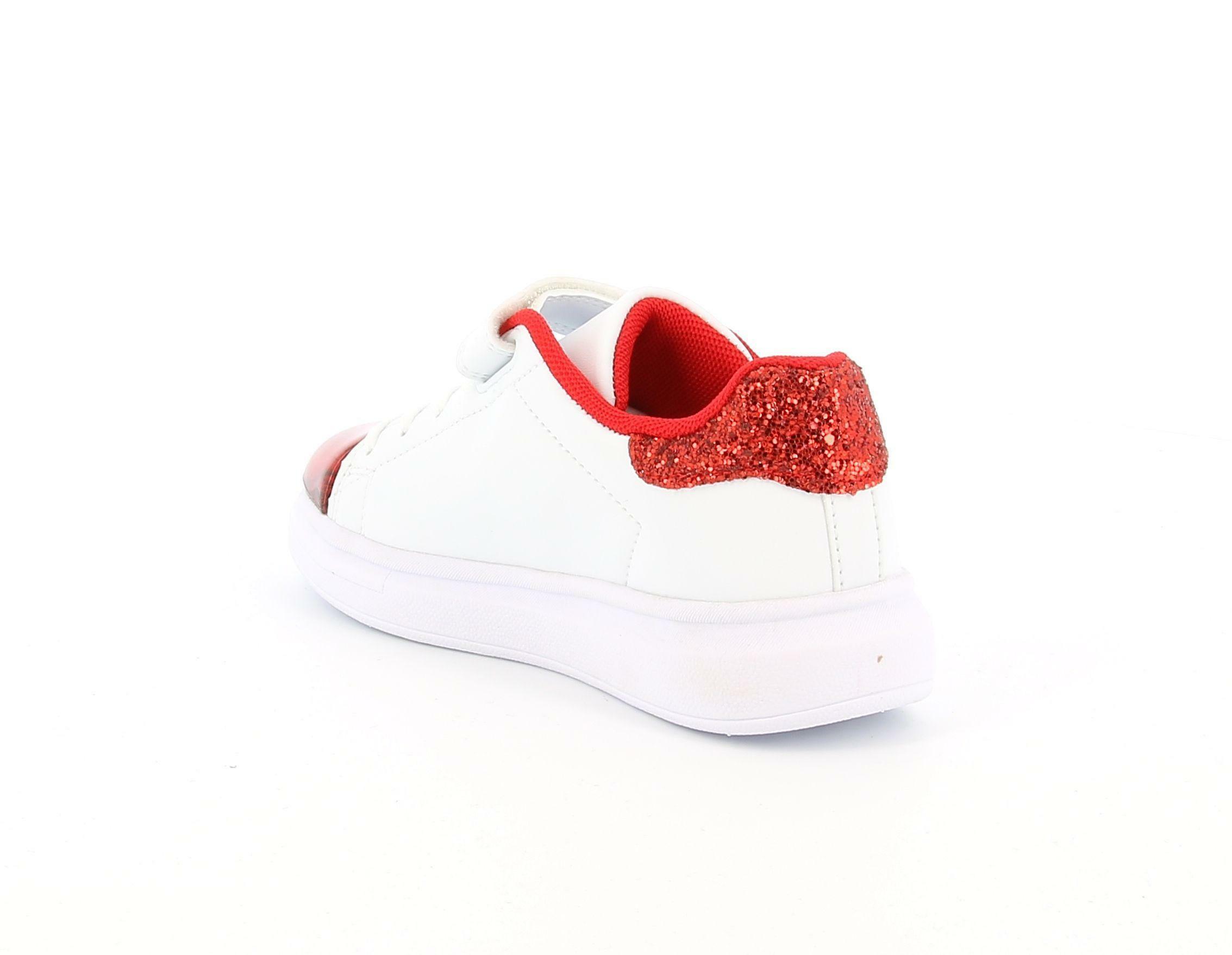 lelli kelly lelli kelly lk5821 sneakers bambina bianco rosso