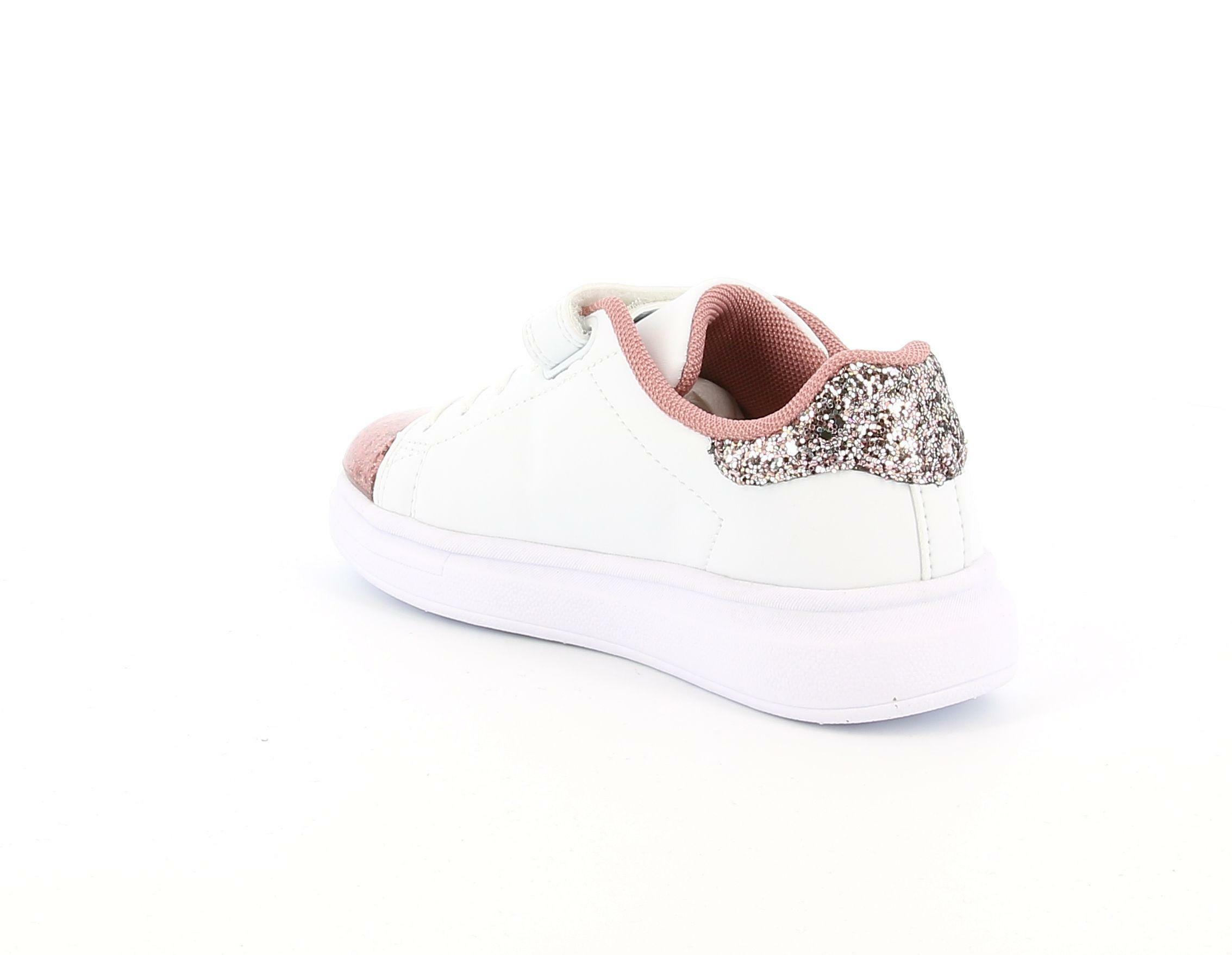 lelli kelly lelli kelly lk5821 sneakers bambina bianco rosa