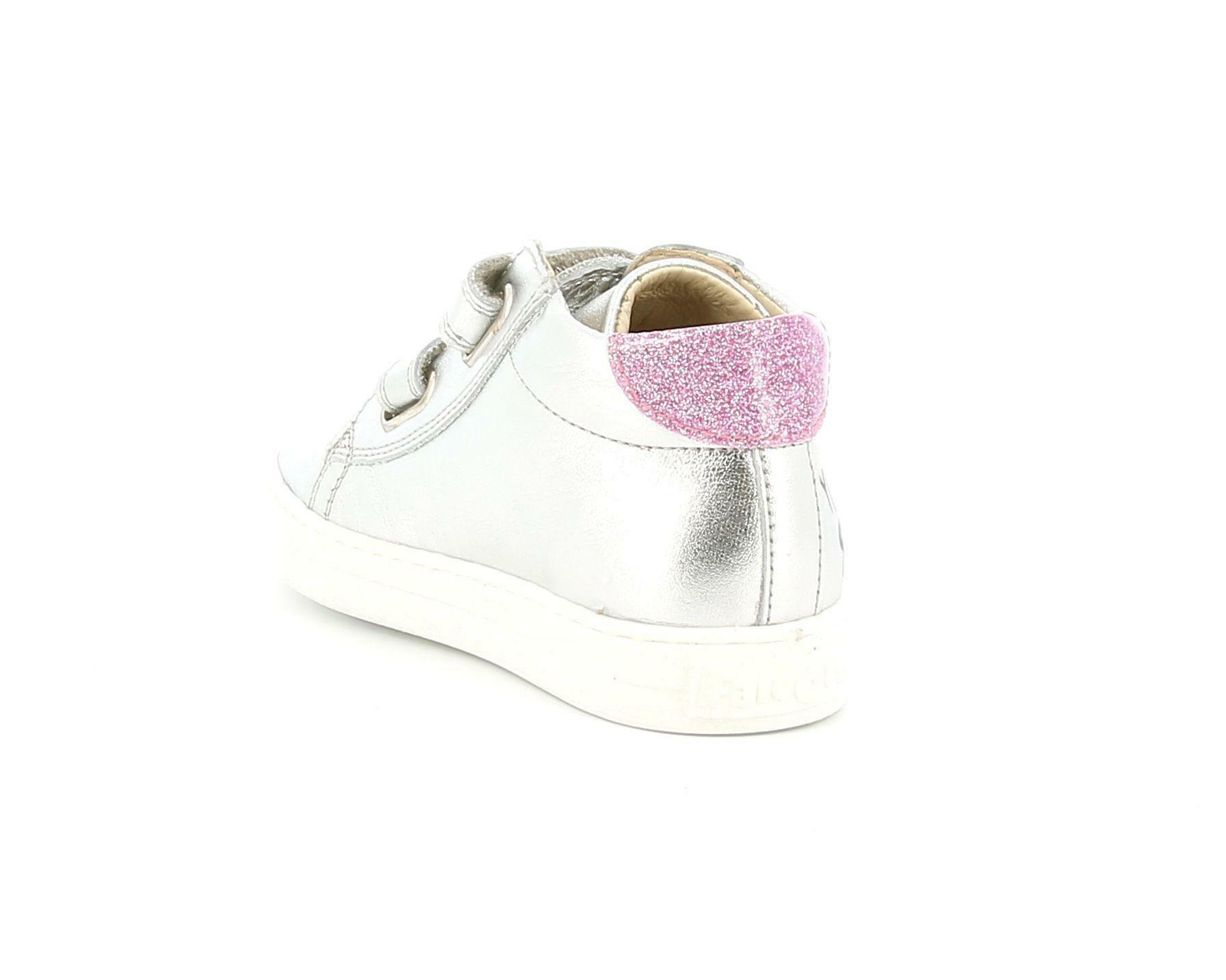 falcotto falcotto sneakers  2015345 03 1q19 argento bambina