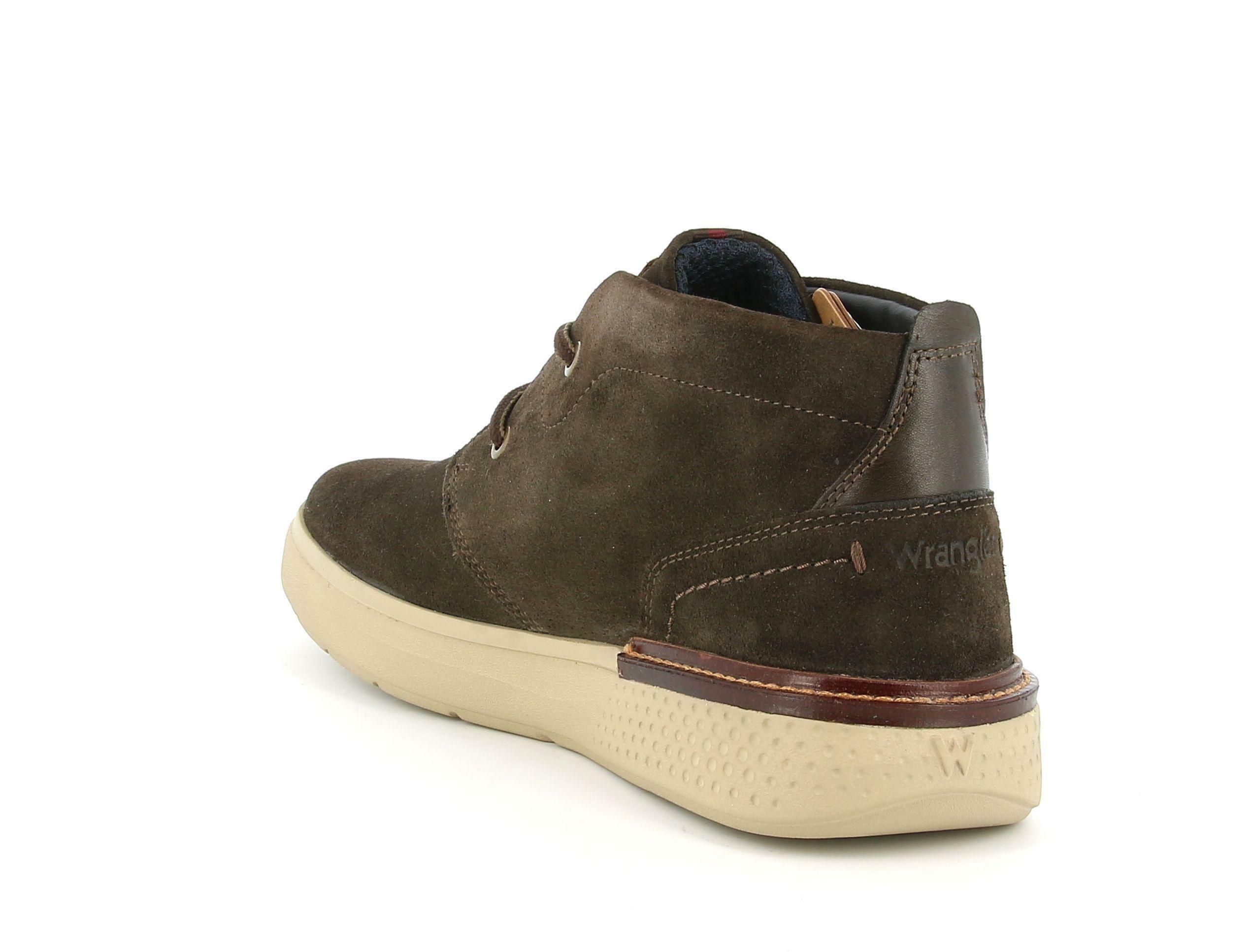 wrangler wrangler polacco wm02036a marrone sneakers uomo