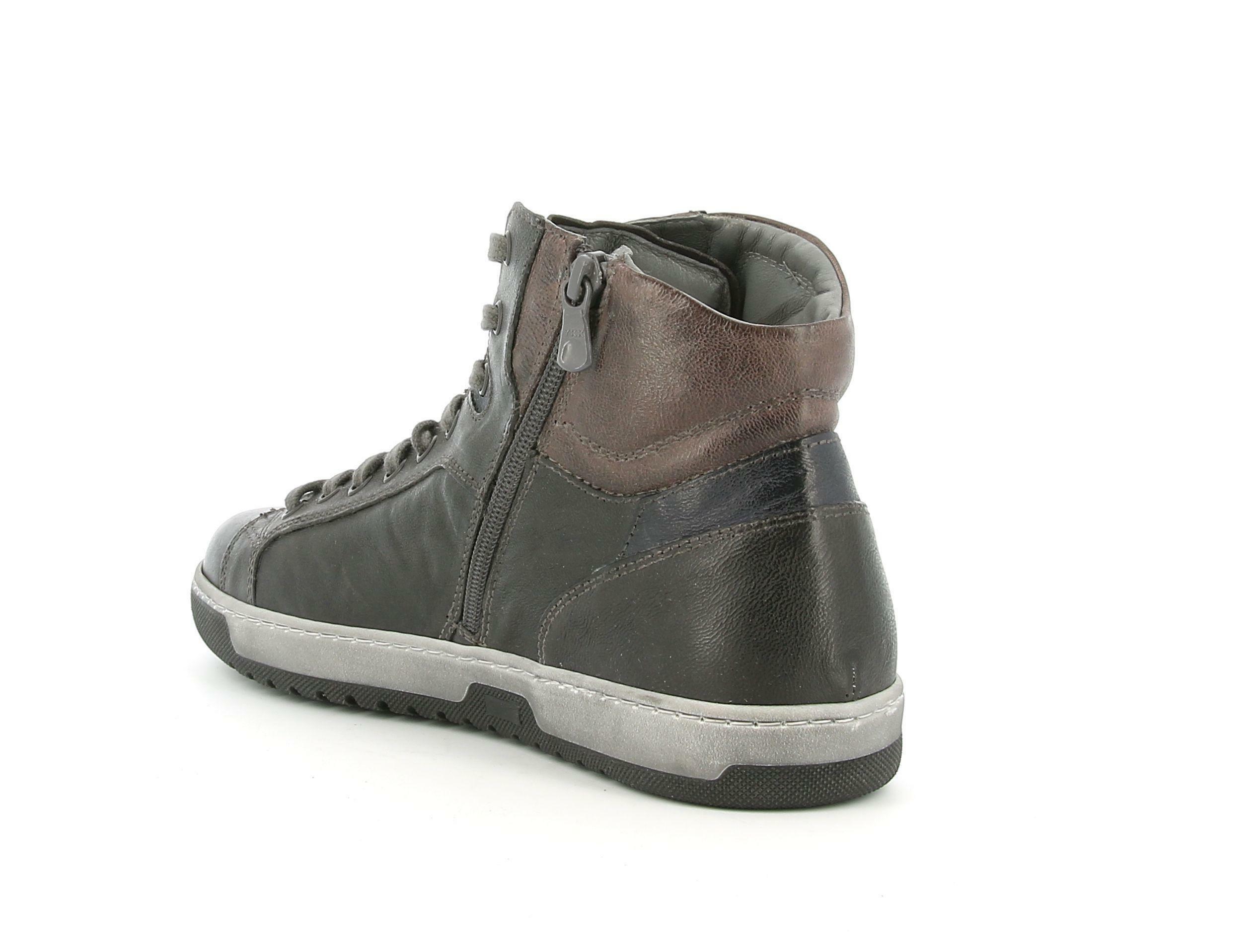 nero giardini nero giardini nero giadrini i001731u 109 grigio sneakers alta uomo