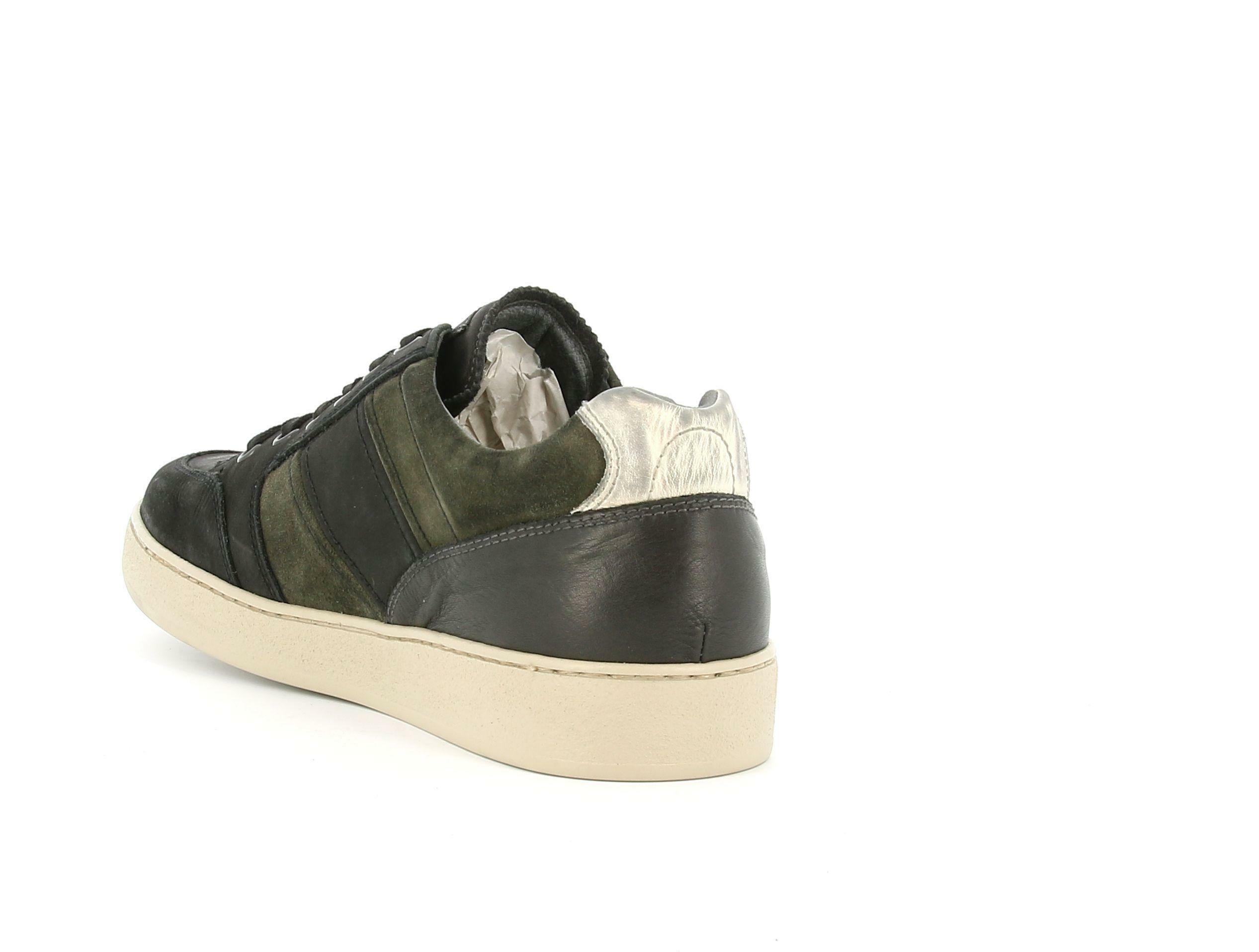 nero giardini nero giardini i001740u 100 nero sneakers bassa uomo