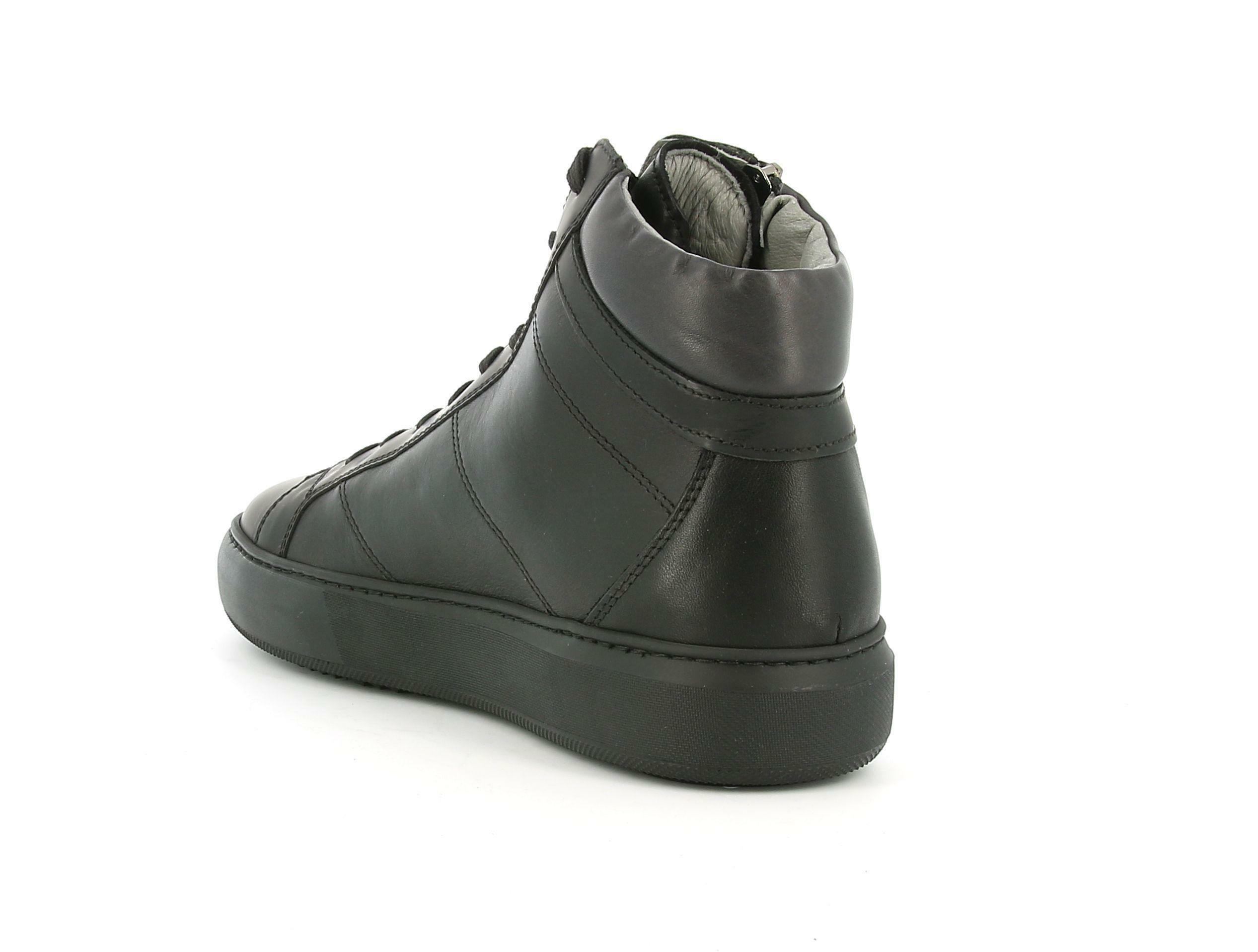 nero giardini nero giardini nero giadrini i001803u 100 nero sneakers alta uomo