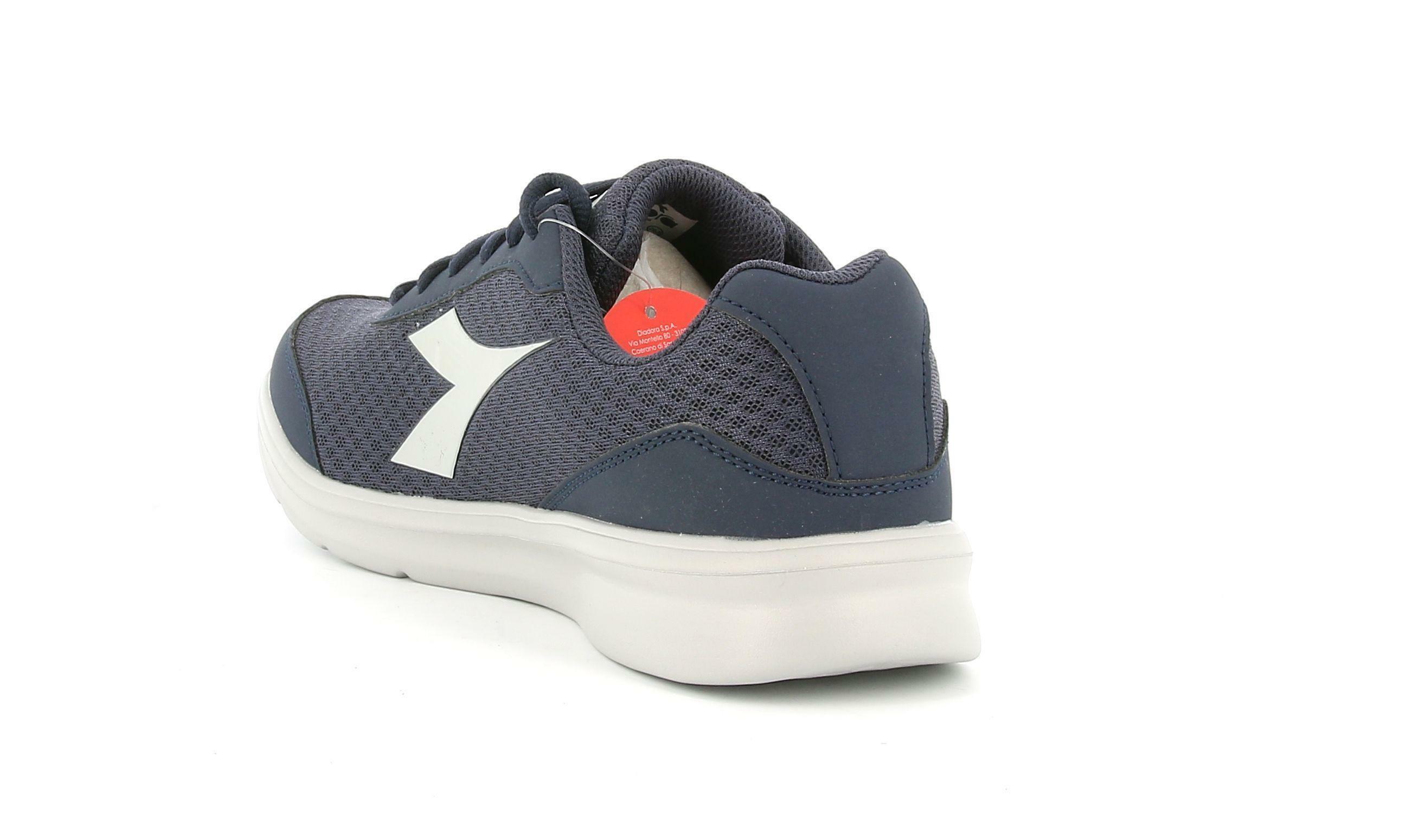 diadora diadora - scarpa da running robin per uomo robin blu corsaro/argento  175949 blu