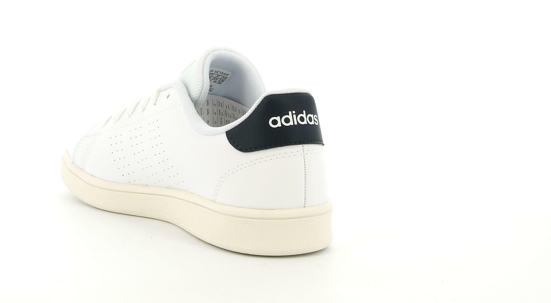 adidas adidas fw2588 advantage k unisex adulto bianca