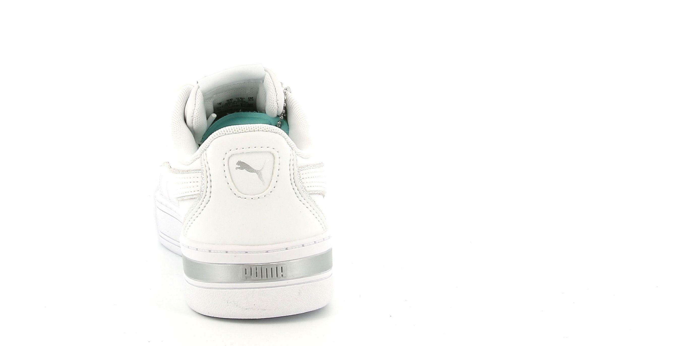 puma puma skye metallic sneaker donna 374797 001