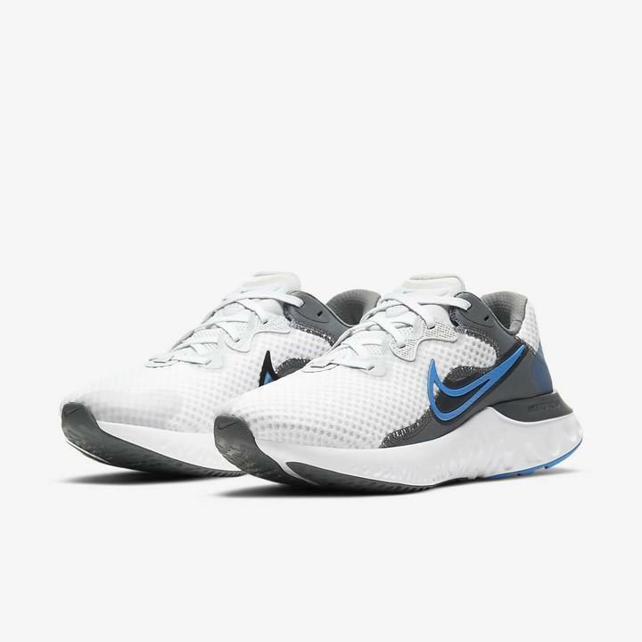 nike nike renew run 2 cu3504 003 scarpa running da uomo grigia