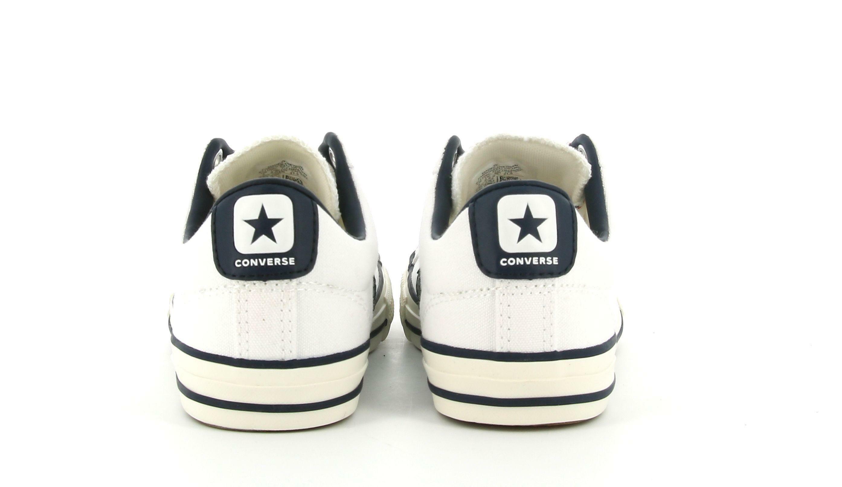 converse converse star player ev ox 671109c bambino  bianco