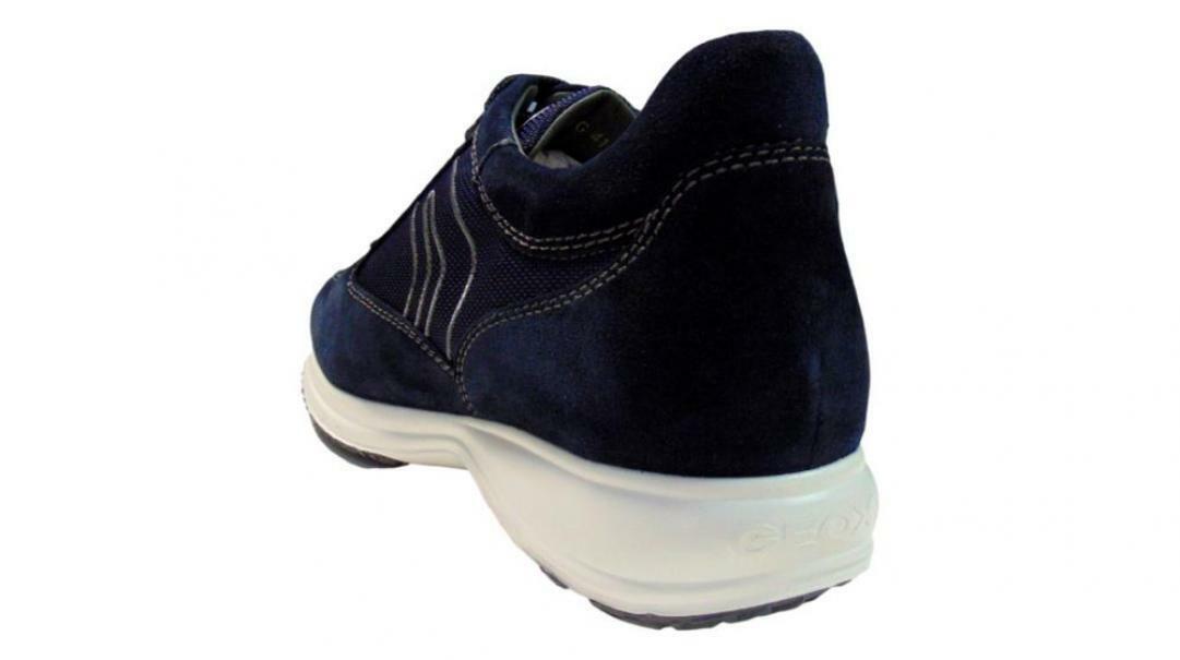 geox geox u happy g u4162g 02211 c4064-40  allacciato sportivo uomo blu