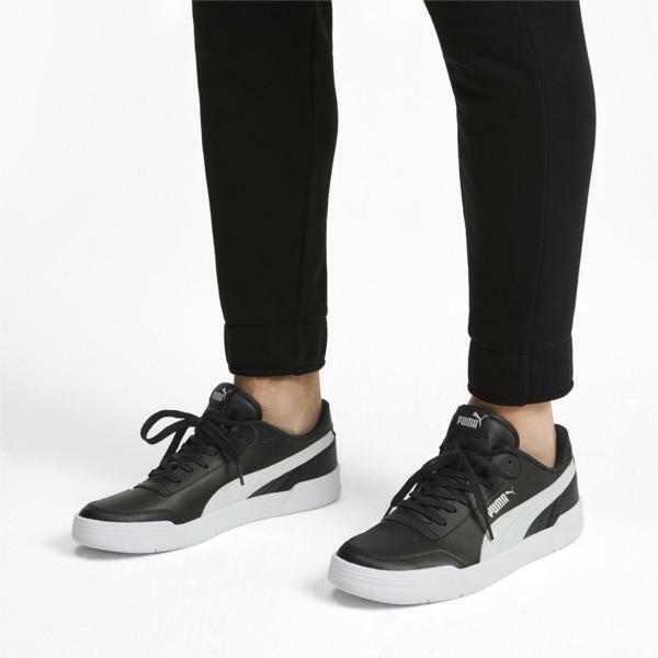 puma caracal sneakers bassa uomo nero