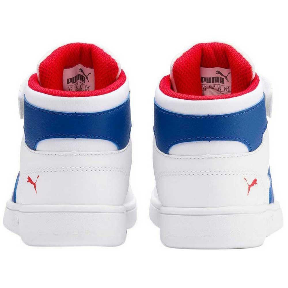 puma puma rebound layup sl v ps bambino sneaker strappo