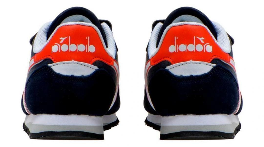diadora diadora simple run up ps bambino 175081 blu