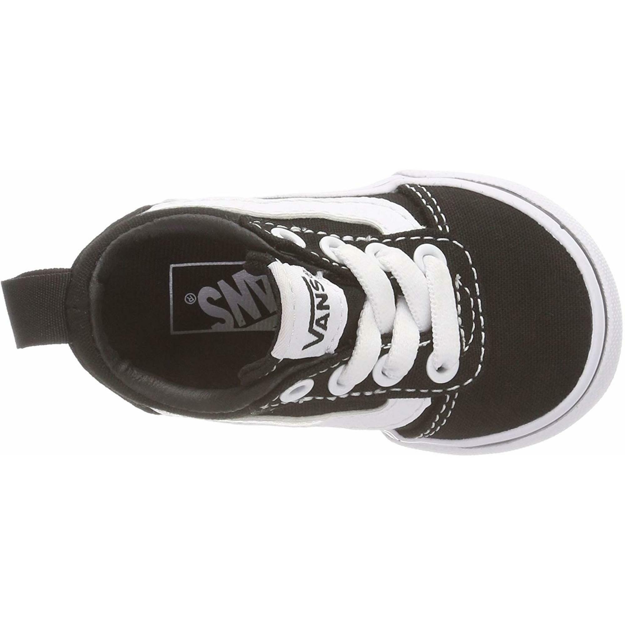 vans vans sneakers bimbo vn0a3qu11871 nero bianco