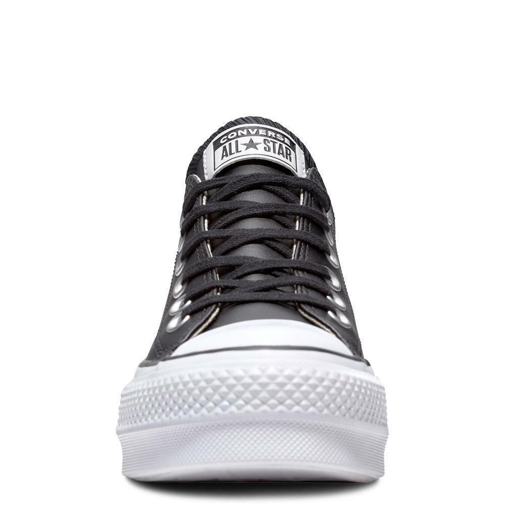converse converse sneakers zeppa donna i-ct platform ox 561681c nero