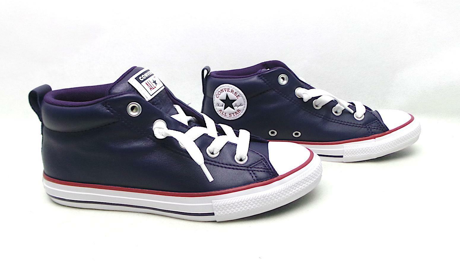 converse converse sneaker bambino ctas street mid 665869c blu