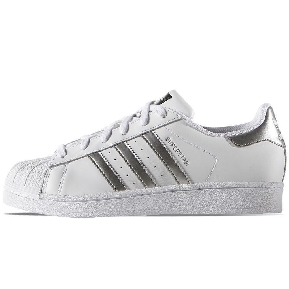 adidas adidas donna superstar w aq3091 bianco