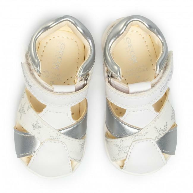 Geox sandalo bambina b021qa 01054 c0007 bianco