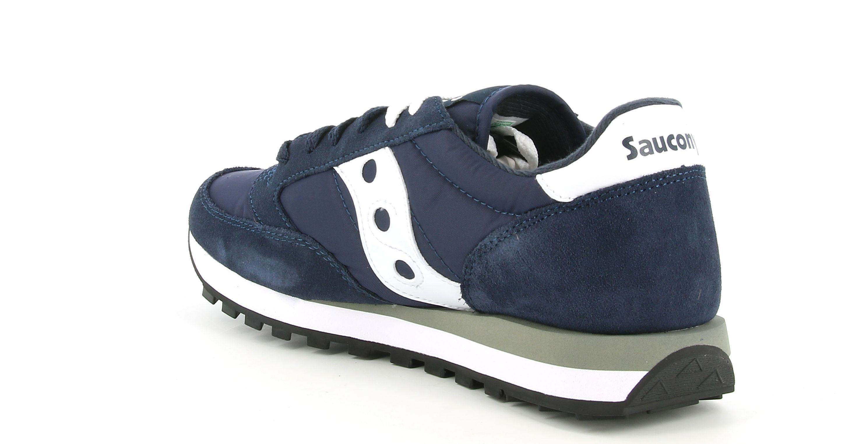 saucony saucony jazz s2044-316 sneakers  uomo navy/white