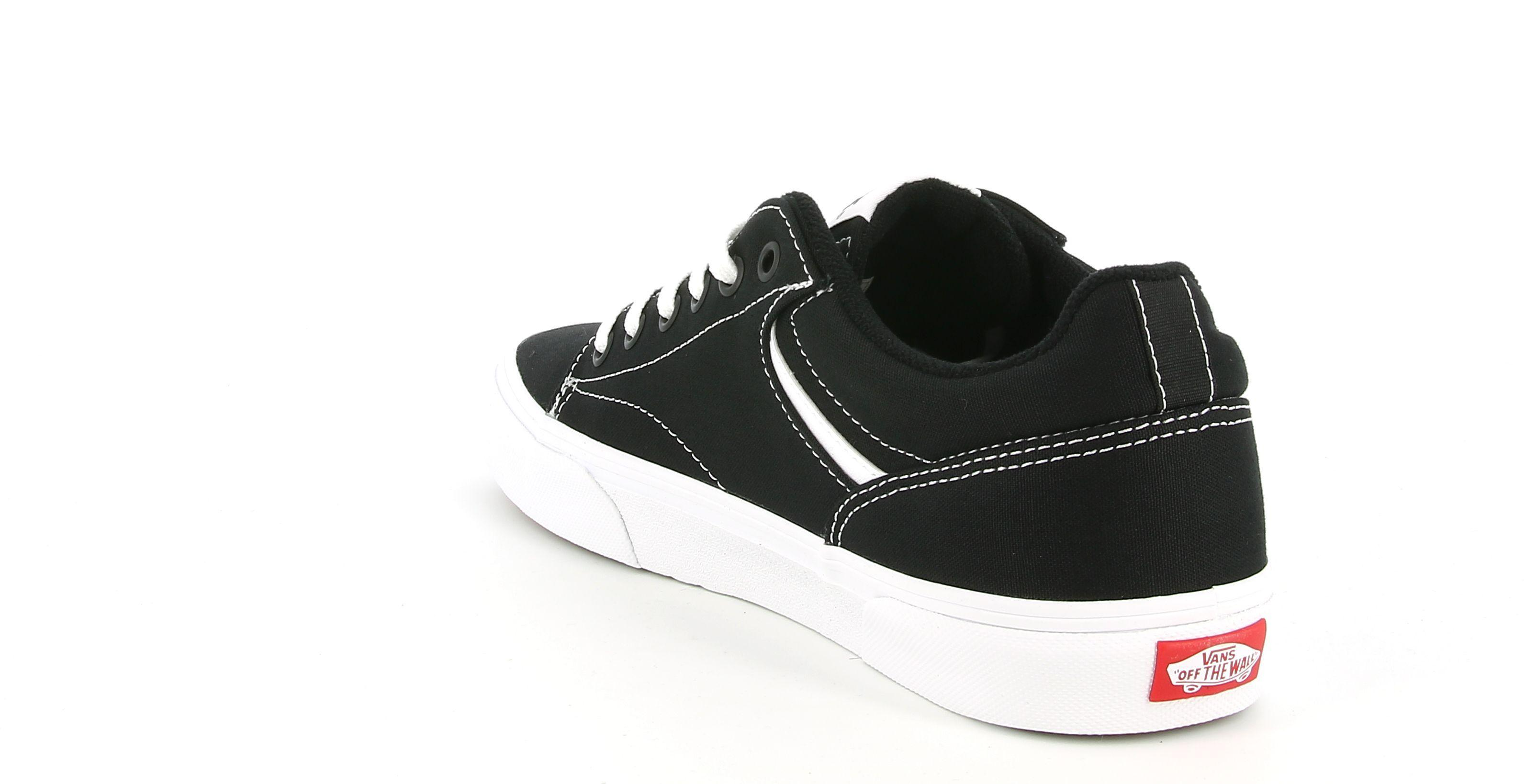 vans vans vn0a4tze1871 seldan sneakers bassa da uomo nera e bianca