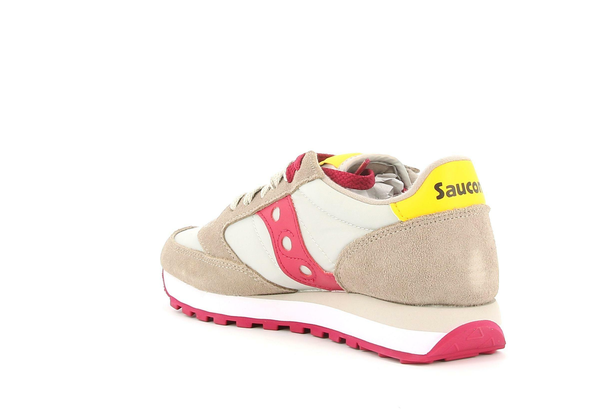 saucony saucony sneakers sportiva s1044-606 bassa donna rossa