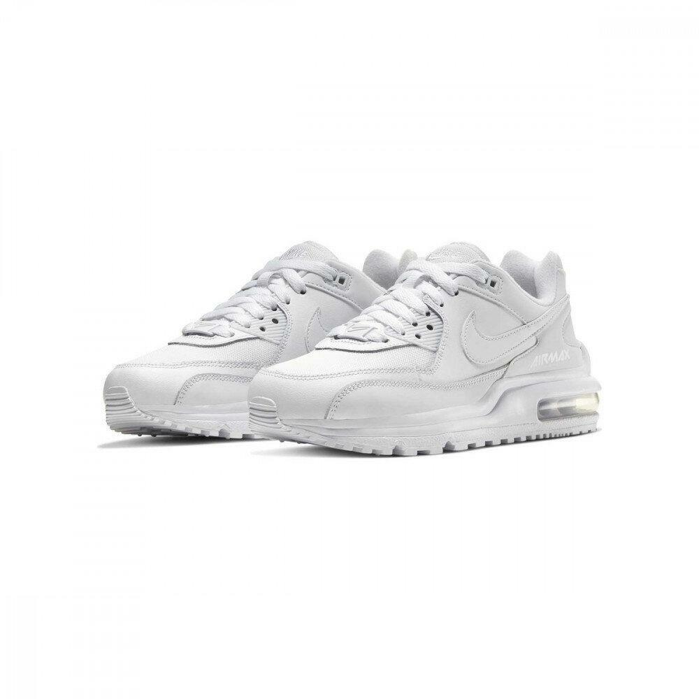nike nike air max wright (gs) cw1755 100 scarpa sportiva unisex adulto bianca
