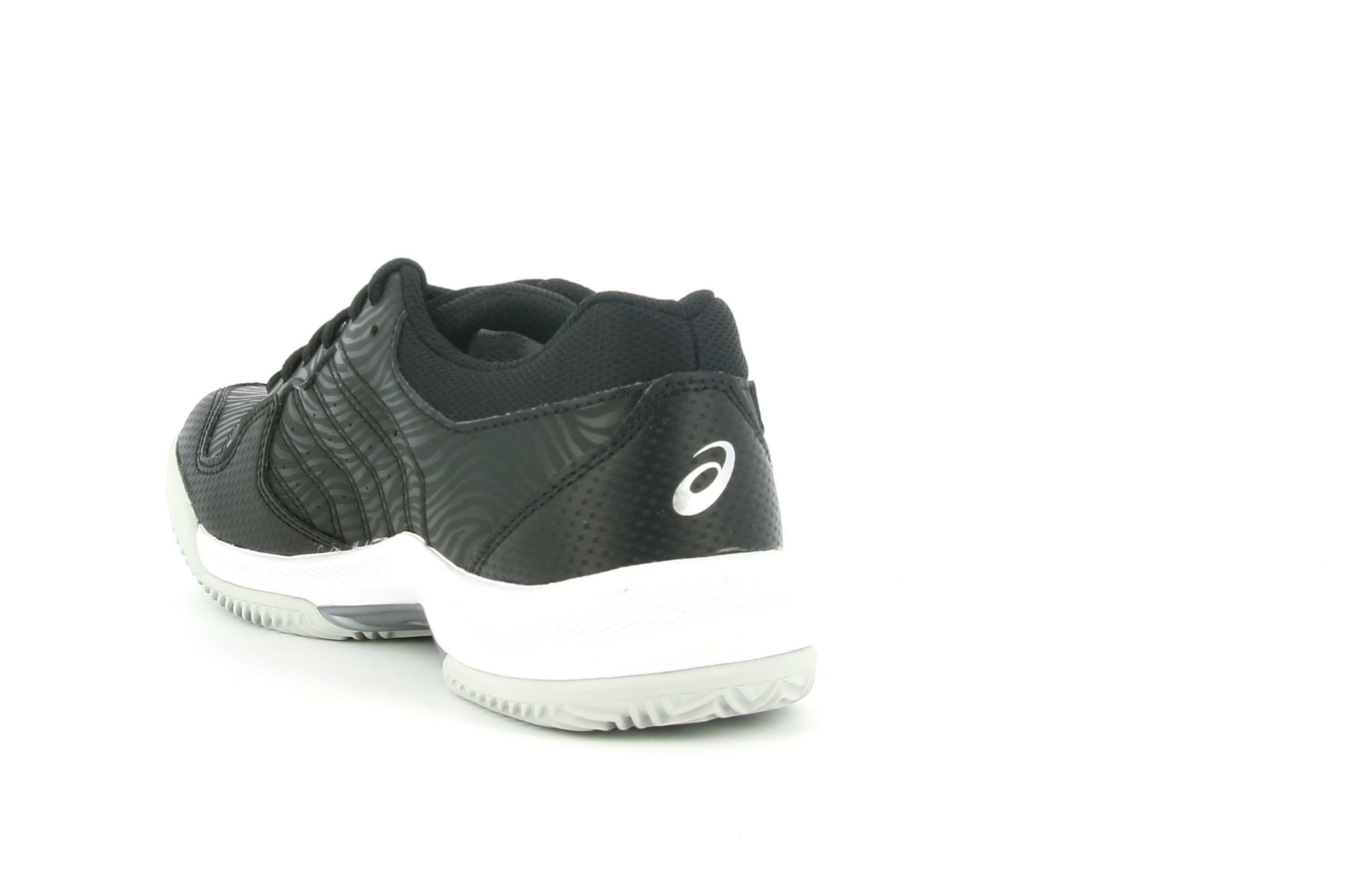 asics asics gel dedicate 6 clay 1042a073 scarpa sportiva da tennis unisex adulto nero