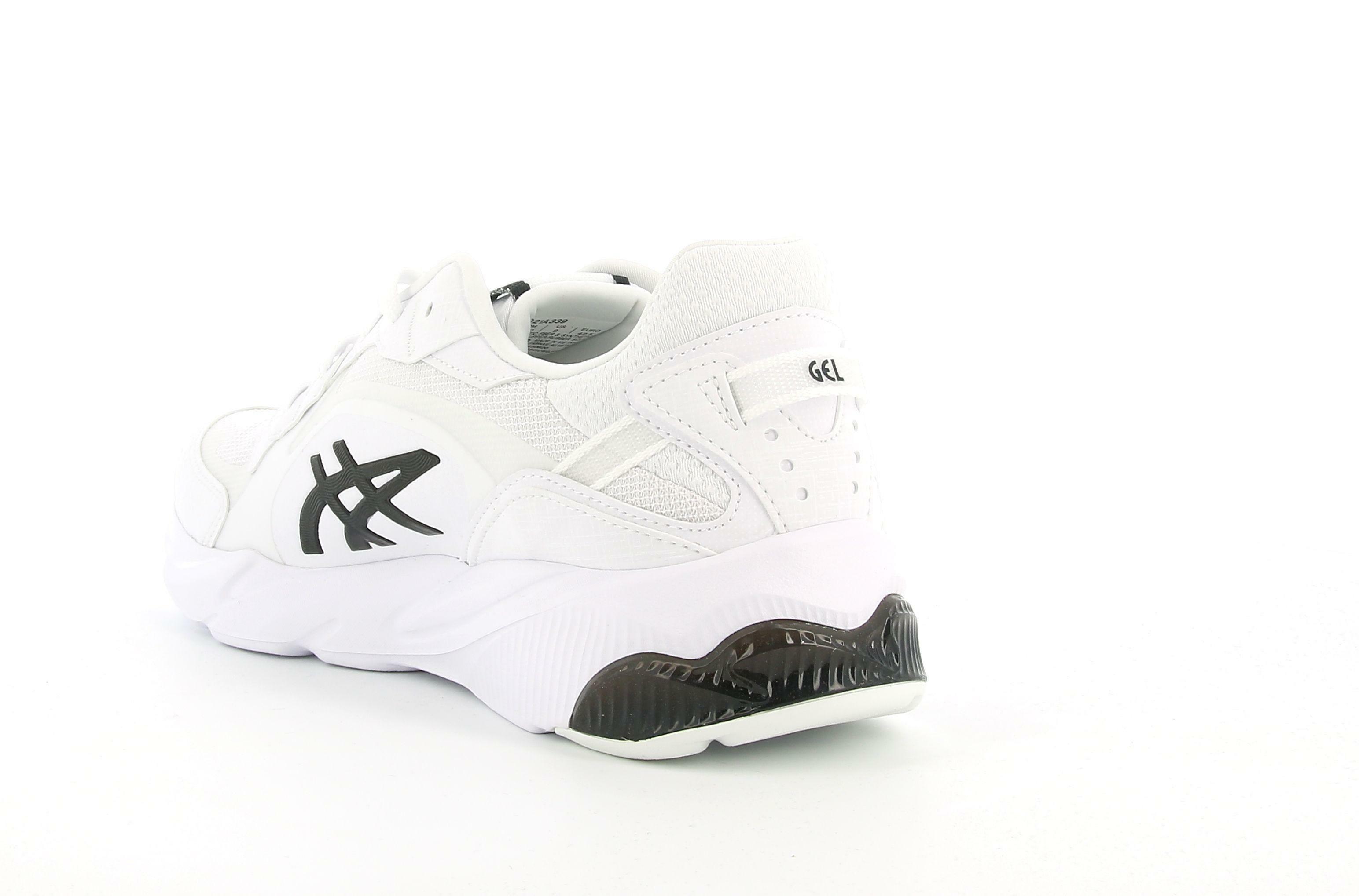 asics asics gel miqrum 1021a339 scarpa sportiva da uomo bianca