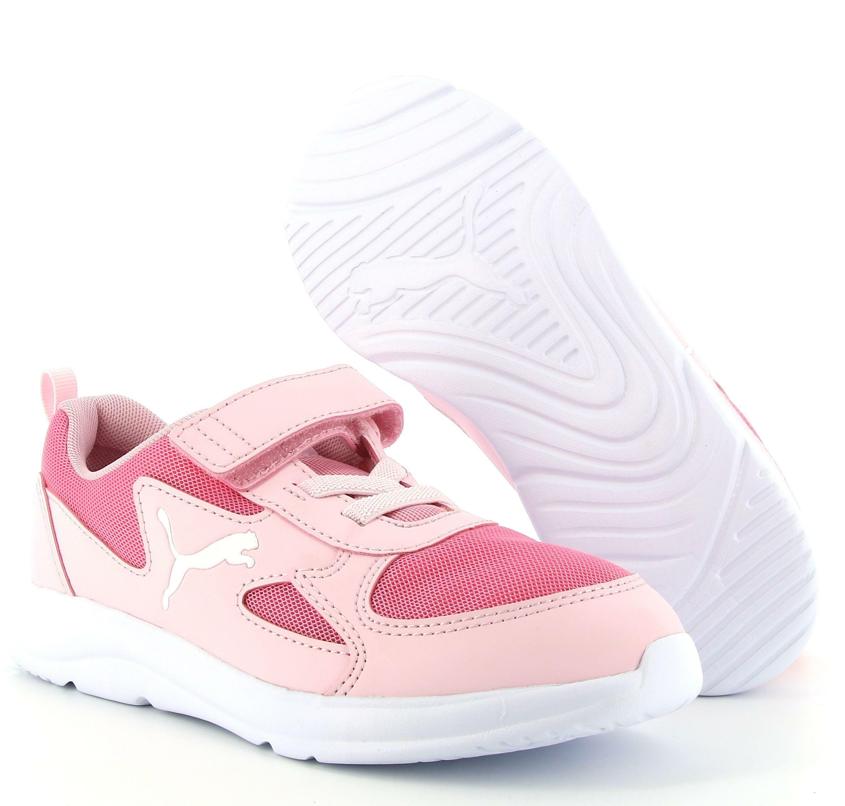 puma puma fun racer ac ps 192971 008 sneaker bassa bambina rosa