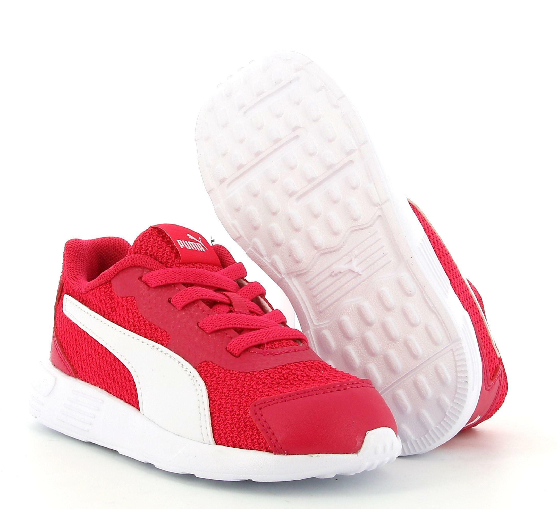 puma puma taper ac inf 374243 009 sneaker bassa bambina rosa