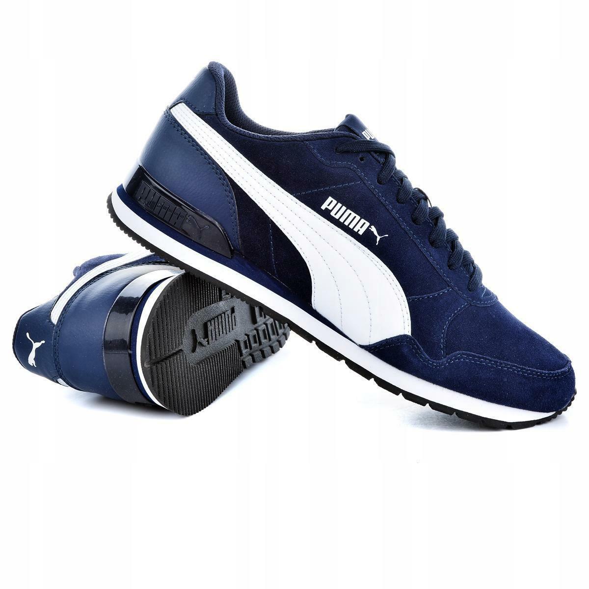 puma puma st runner v2 sd uomo sneaker sportiva 365279 008 blu