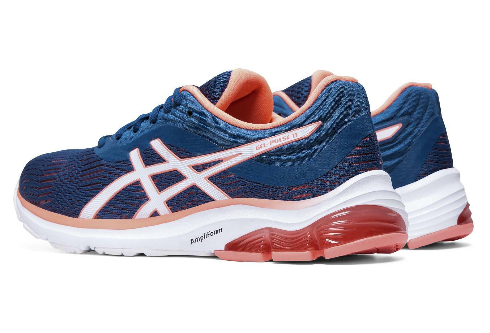asics asics gel-pulse 11 donna scarpe running 1012a467 blu